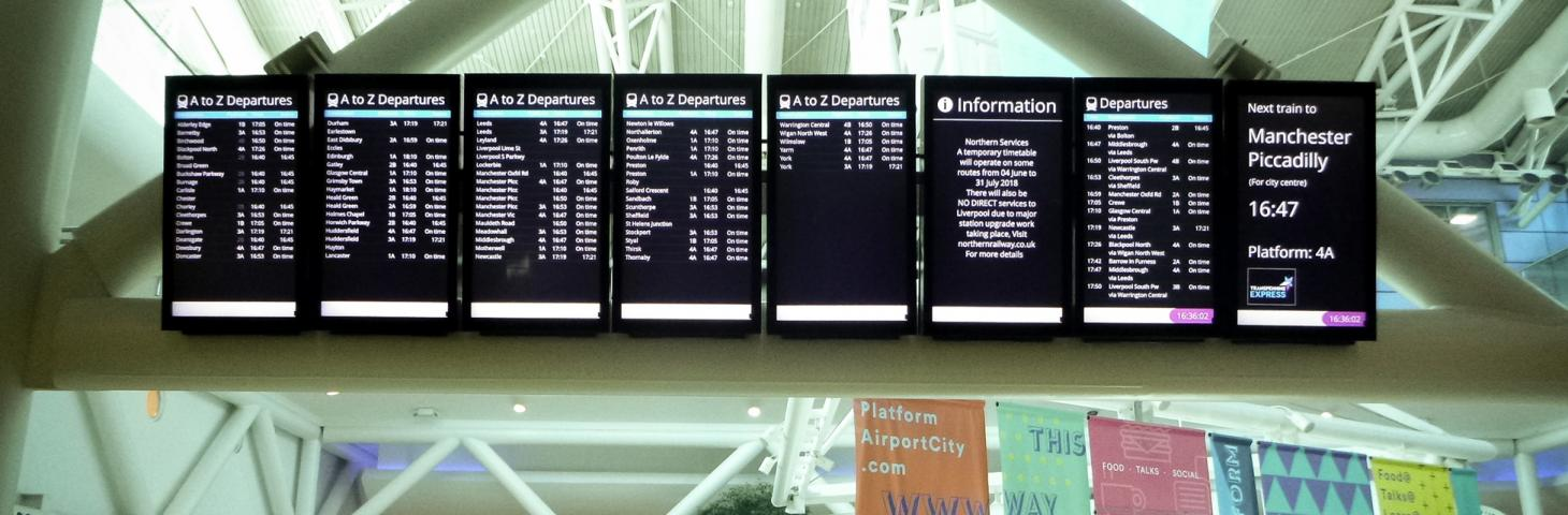Displays help transform TPE stations