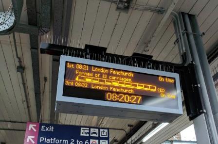 Passenger praise for new displays